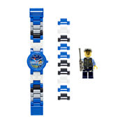 LEGO® City Special Policeman Kids Watch with Mini Figure