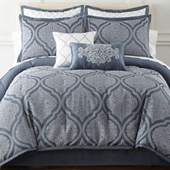 Royal Velvet Mona 8-pc. Comforter Set & Accessories