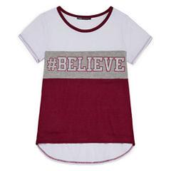 Insta Girl Graphic T-Shirt-Big Kid Girls