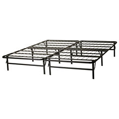 structures highrise foldable bed frame and mattress foundation - Fold Up Bed Frame
