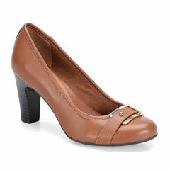 Eurosoft Beatrice Leather Womens Pumps
