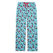 Total Girl Aqua Zest Penguin Pajama Pants - Girls