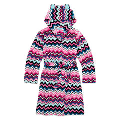 Total Girl® Long-Sleeve Chevron Robe - Girls 7-16