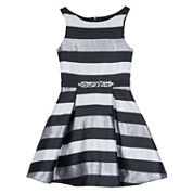 by&by girl Sleeveless Party Dress - Big Kid