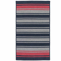 Colonial Mills® Naples Stripe Reversible Braided Rug