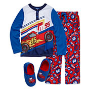 Disney Collections Cars Pajama Set and Slippers - Boys