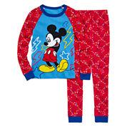 Mickey 2-pc. Cotton Pajama Set - Boys
