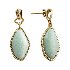 Art Smith by BARSE Blue Amazonite Drop Earrings