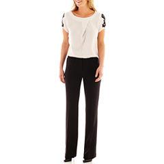 Worthington® Lace-Sleeve Blouse or Modern Trouser Pants