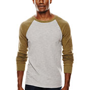 Arizona Raglan-Sleeve Thermal Pullover