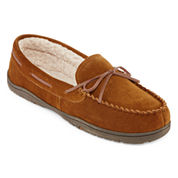 Rockport® Mens Suede Moccasin Slippers