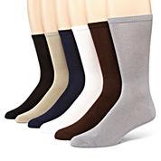 MUK LUKS® 6-pk. Men's Dress Socks