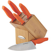 Rachael Ray® 6-pc. Japanese Stainless Steel Knife Set