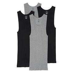 Stafford® 4-pk. Cotton A-Shirts