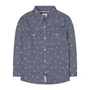 Levi's® Barstow Long-Sleeve Plaid Shirt - Preschool Boys 4-7