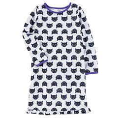 Carter's Halloween Long Sleeve Nightgown-Toddler Girls