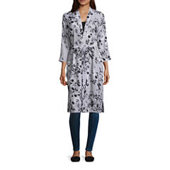 T.D.C Long Sleeve Floral Kimono Jacket