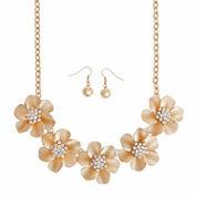 Mixit White Jewelry Set