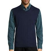 St. John's Bay® Fine-Gauge Sweater Vest