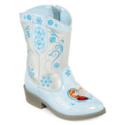 Disney® Frozen Girls Cowboy Boots - Toddler