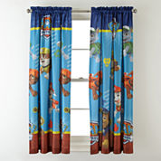 Paw Patrol Paw-Some Room-Darkening Rod-Pocket/Back-Tab Curtain Panel