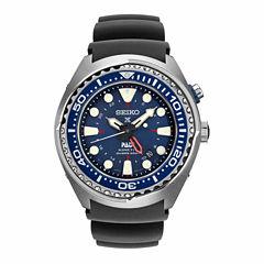 Seiko Mens Blue Strap Dive Watch-Sun065