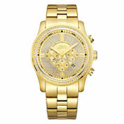 JBW Men's Vanquish .42 ctw Diamond 18k gold-plated stainless-steel Watch J6337B