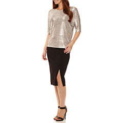 Worthington® Short-Sleeve Dolman Top or Pencil Skirt