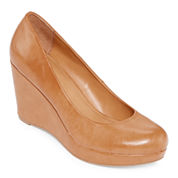 a.n.a.® Kenny Wedge Pumps - Wide Width