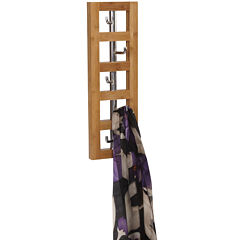 Household Essentials® Vertical 5-Hook Wall Coat Rack