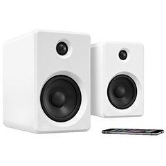 Innovative Technology Rechargeable Bluetooth Wireless 50 Watt Bookshelf Speakers
