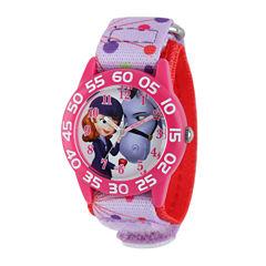 Disney Sofia Kids Time Teacher Print Nylon Strap Watch