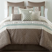 Home Expressions™ Lara 10-pc Comforter Set
