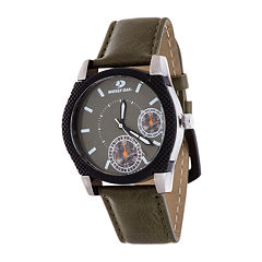 Mossy Oak Mens Green Bracelet Watch-Mow081ox-Ol