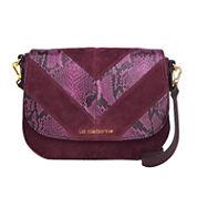 Liz Claiborne Alanis Flap Saddle Crossbody Bag