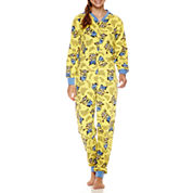 Minons Long Sleeve One Piece Pajama