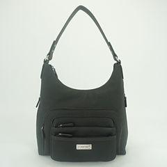 St. John's Bay® Multi Omega Hobo Bag