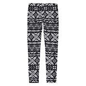 Arizona Solid Knit Leggings - Big Kid