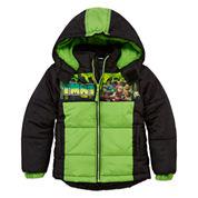 Boys Heavyweight Puffer Jacket-Preschool