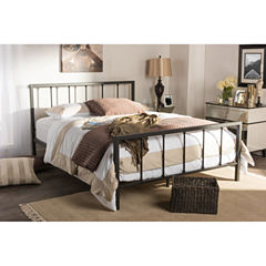 Baxton Studio Amy Modern Metal Bed