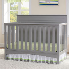 Delta Fancy  Crib Collection Dark Chocolate
