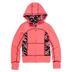 RBX Active Knit Jacket - Preschool Girls 4-6x