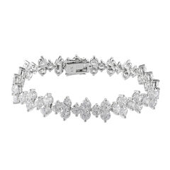 CZ by KENNETH JAY LANE Cubic Zirconia Bracelet