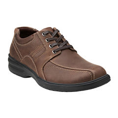Clarks® Sherwin Limit Mens Casual Leather Oxfords
