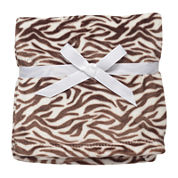 Soft and Silky Zebra Print Blanket