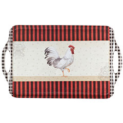 Portmeirion® Rooster Melamine Serving Tray