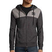 DC Shoes Co.® Squadron Long-Sleeve Front-Zip Hoodie