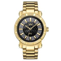 JBW 562 Mens 1/8 CT. T.W. Diamond Gold-Tone Stainless Steel Watch JB-6225-C
