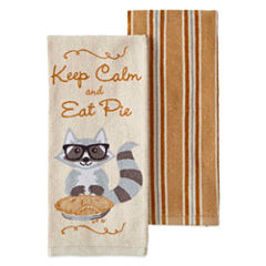 JCPenney Home Harvest Collection 2-pc. Kitchen Towel