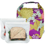 BlueAvocado® Click 'n Go with (Re)Zip™ Seal Lunch 2-Pack